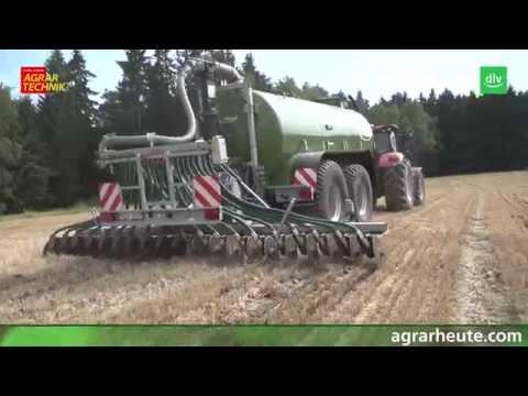 Fliegl Tractor Automation im AGRARTECHNIK-Maschinentest
