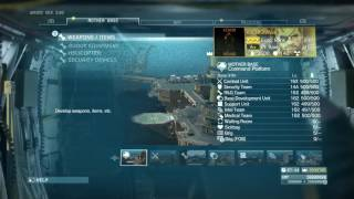 Metal Gear Solid V : The Phantom Pain May 2017 items Update