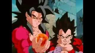 Goku se come la esfera de cuatro estrellas HD