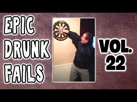 DRUNK FAIL COMPILATION VOL 22: DRUNK PEOPLE DOING THINGS - 2018 Drunk People Compilation