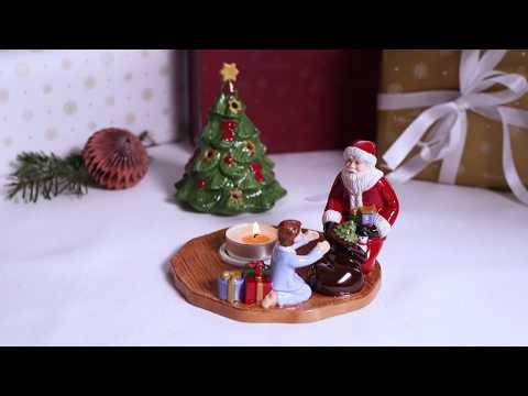 Toys Delight Decoration - Tealight Santa   FESTIVE CHRISTMAS IDEAS   Villeroy & Boch