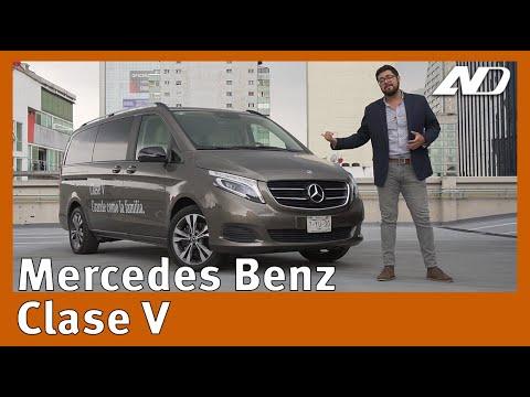 Merdeces-Benz Clase V - Si, Mercedes hace una Minivan y es realmente buena