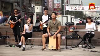 사운드라이츠 - 도서관 가는길 Live 2014.09.12