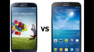 مقارنه Galaxy S4 vs. Galaxy Mega 6.3