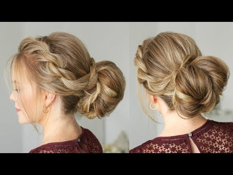 Twist Braid and Twisted Bun | Missy Sue