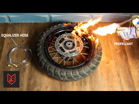 4 Ways to Inflate Your Tire Without a Pump