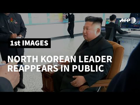 North Korea's Kim seen smoking during factory visit after weeks of health rumours | AFP photo