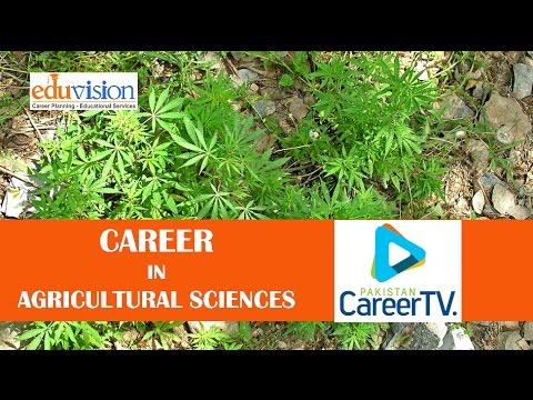 Career in Agricultural Sciences