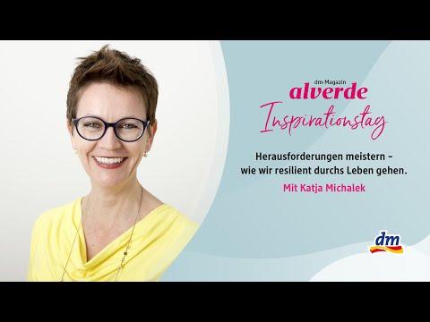 alverde-Inspirationstag x Katja Michalek: Herausforderungen meistern - resilient durchs Leben gehen