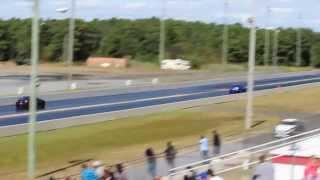350z twin turbo quarter mile VTR