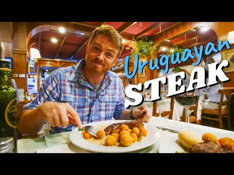 Travelling to MONTEVIDEO, Uruguay + Trying URUGUAYAN STEAK + Tannat Wine in the Capital!