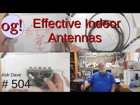 Effective Indoor Antennas (#504)