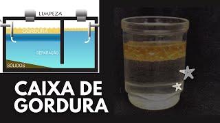 CAIXA DE GORDURA - Pra que serve e Como fazer?