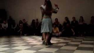 """Damian y Nancy improvisan tango """"El CIelo y tu"""""""