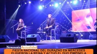 Fiesta Nacional del Durazno en Mercedes con la actuación del dúo Pimpinela   Tema 10