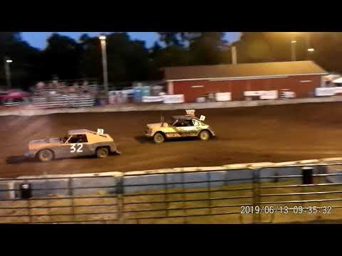 Manchester Community Fair 2019 Figure Eight FEATURE!!!!! (Big cars) (7-13-2019) Manchester,Michigan