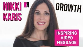 Embrace Beginnings; Don't Fear, Resent Endings - Growth Inspiring Video Message - Nikki Karis