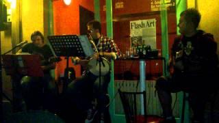 Black Cat Trio - Sama (Yu Grupa cover) Live @ Flash Art, Bihac, 08.09.2012.