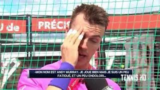 Elliot Loney Imitates Nadal, Murray, Kyrgios & Djokovic: Montreal 2017 HD