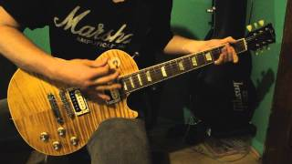 Slash - Back from Cali feat Myles Kennedy (FULL guitar cover) HD