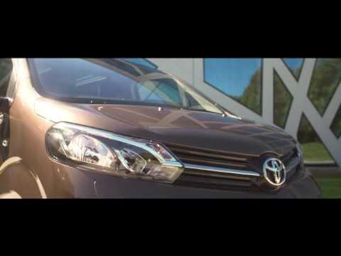 Toyota Proace: ampia visione e versatilità
