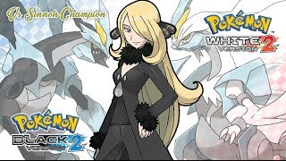 Pokémon B2/W2 - Battle! Sinnoh Champion Music HD