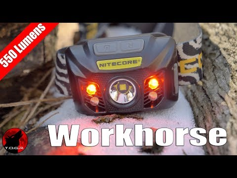 Workhorse NiteCore NU32 Rechargeable Headlamp - Review