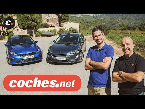 Ford Focus vs Kia Ceed | Prueba comparativa / Test / Review en español | coches.net