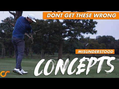 AVOID THESE 3 COMMONLY MISUNDERSTOOD GOLF SWING CONCEPTS
