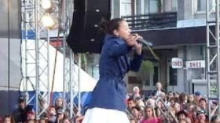 Monika Bagárová - I Believe I Can Fly (Jeseník 5.6.2010)