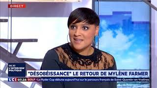 """""""Desobeissance"""" Nouvel album Mylène Farmer (La Matinale LCI)"""