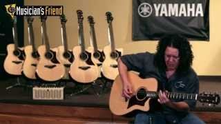 Yamaha A Series Acoustic-Electric Guitars