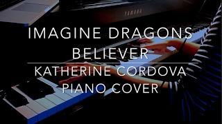 Imagine Dragons - Believer (HQ piano cover)