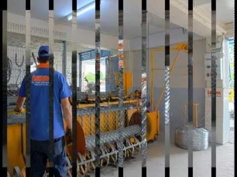 Tel Örgü, Panel Çit, Çelik Konstrüksiyon, Beton direk, Sera Yapımında Lider İSOM