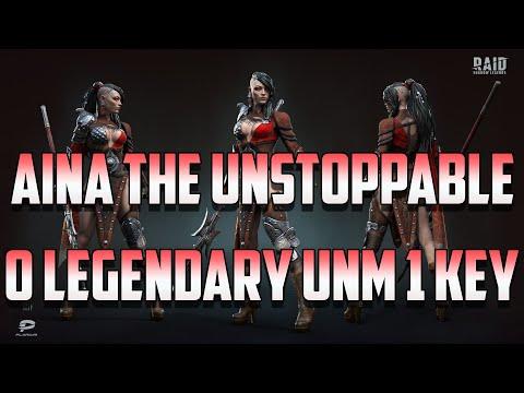 No Legendary UNM 1 Key with Aina I Raid Shadow Legends