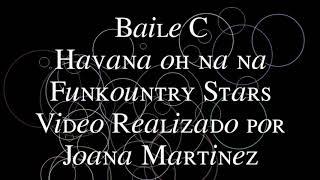 FEBD Line Dance Baile C Funkountry Stars Havana oh na na