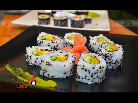 Reteta de Sushi Vegan