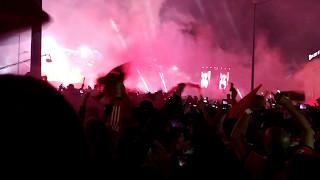 Festa do Tetra do Benfica no Marquês de Pombal  2016/2017 Part 2