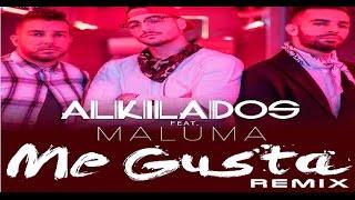 Me Gusta Remix (Letra) - Alkilados ft  Maluma