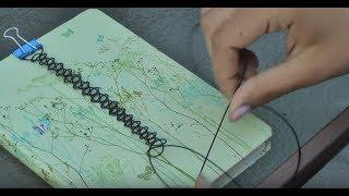 DIY EASY TATTOO CHOKER | VAAANESSER