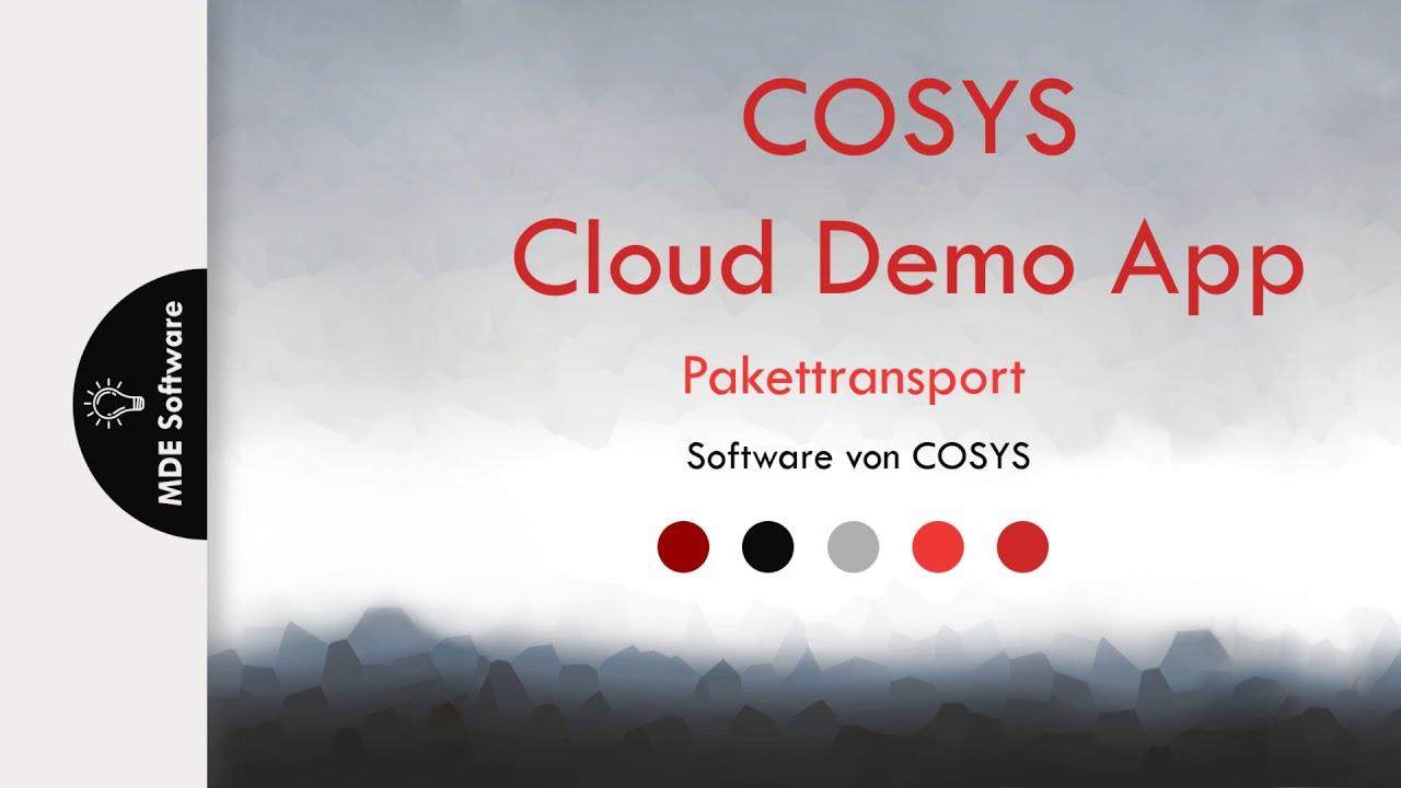 Effiziente Sendungsauslieferung für KEP Dienst | COSYS Pakettransport App