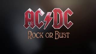 ACDC Rock Or Bust Tour - The Official Book 2015