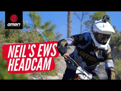 Neil's Epic EWS Headcam | Racing 'Men's DH' in Finale Ligure