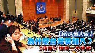 【WHA懶人包】為什麼台灣要加入 《蘋果》讓你一次看懂 | 台灣蘋果日報