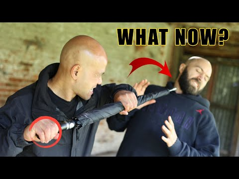 How to use the umbrella for self defence | Master Wong