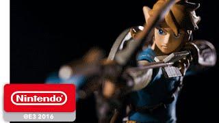 The Legend of Zelda: Breath of the Wild - amiibo Trailer - Nintendo E3 2016
