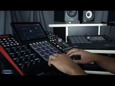 Akai MPC X and MPC Live Sync Using Ableton Link