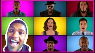 """Star Wars: The Force Awakens"""" Cast Sing """"Star Wars"""" Medley (A Cappella) Reaction"""