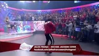"Jalles Franca - ""Beat It"" (Michael Jackson Cover) | Programa da Sabrina"