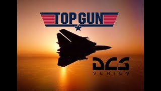 "DCS World: F-14 Tomcat Kenny Loggins ""Danger Zone"" Top Gun movie Tribute"